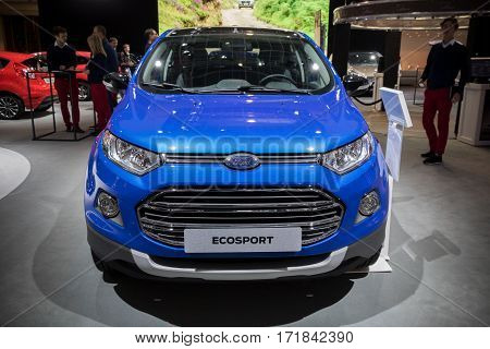 Ford Ecosport Compact Suv Car