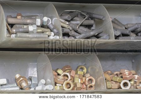 Set of screws