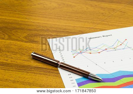 Summary Report Calculations savings finances and analysis of the market concept.