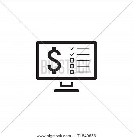Making Money Icon. Business Concept. Flat Design Isolated Illustration.