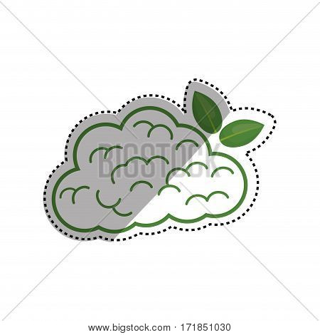 Go green mind icon vector illustration graphic design