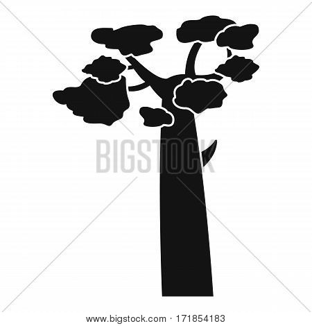 Baobab icon. Simple illustration of baobab vector icon for web