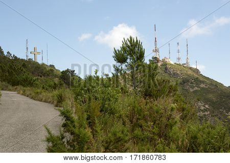 Natural park of the desert of the palms in Castellon