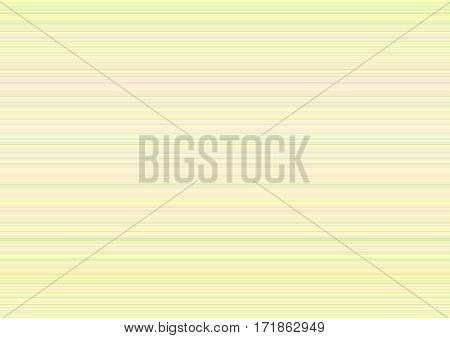Soft blurred background in pastel shades of blue, green, pink, yellow, and white with stripes of variable widths.