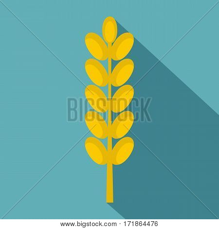 Field spike icon. Flat illustration of field spike vector icon for web