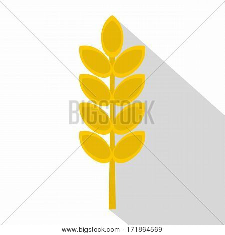 Inlet spike icon. Flat illustration of inlet spike vector icon for web