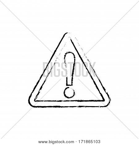 Attention waning message illustration information isolated message