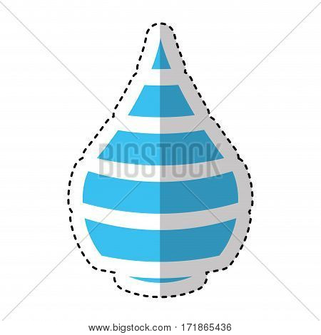 pure water emblem isolated icon vector illustration design
