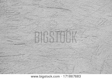 The Plaster On The Wall. Construction Texture.