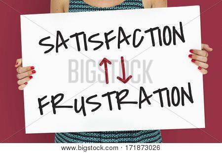 Assessment Evaluation Satisfaction Frustration Illustration
