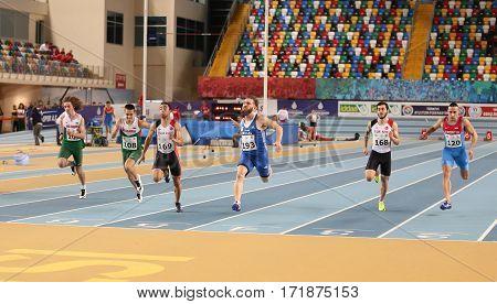 Balkan Junior Indoor Championships Istanbul 2017