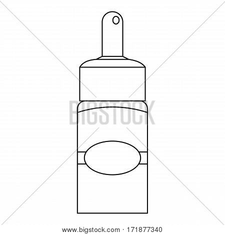 Medical drops icon. Outline illustration of medical drops vector icon for web