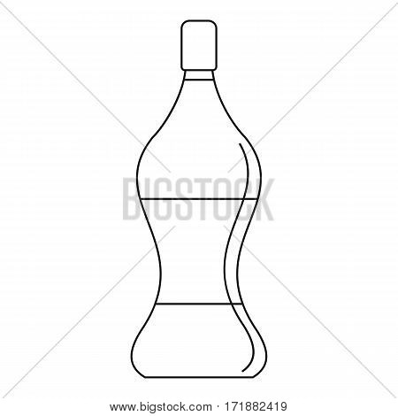 Soda water icon. Outline illustration of soda water vector icon for web