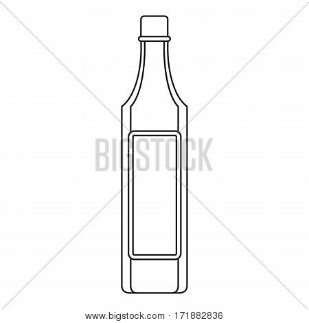 Vinegar bottle icon. Outline illustration of vinegar bottle vector icon for web