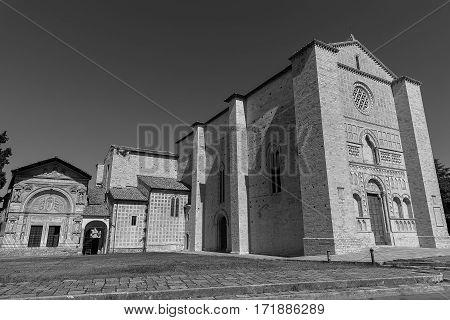 Perugia - Umbria jazz Festival - historical building and church