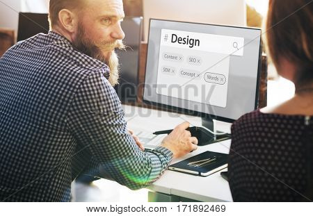 Internet User Interface Web Template