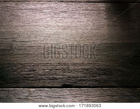Old Weathered Rotten Cracked Knotted Coarse Wood