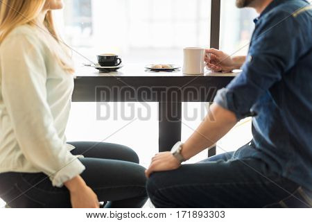 Dating And Drinking Some Coffee