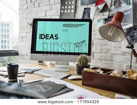 Ideas Paper Plane Creative Imagination