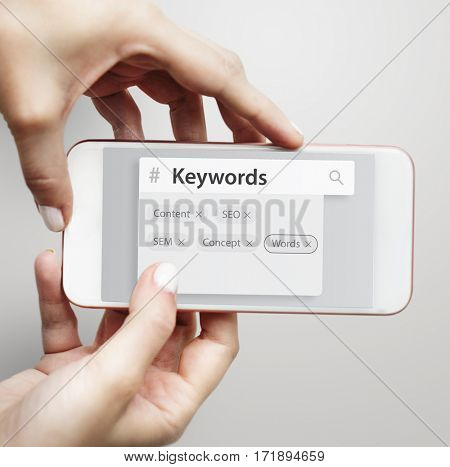 Keyword seo content website tags search