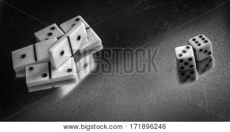 items for table games against the background of the tissue many people are very fond of table games they develop logic and reasoning and just a pleasure to spend time