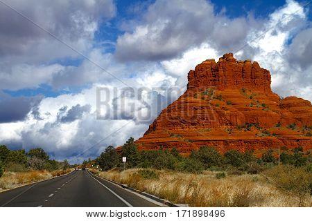 Sedona Red Rocks - the Bell Rock