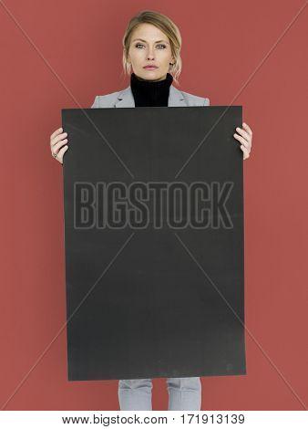 Woman Confidence Self Esteem Copy Space Portrait Concept
