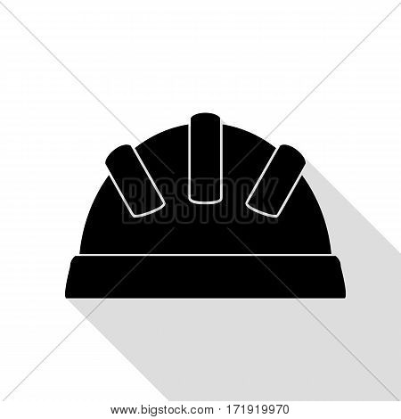 Baby sign illustration. Black icon with flat style shadow path.