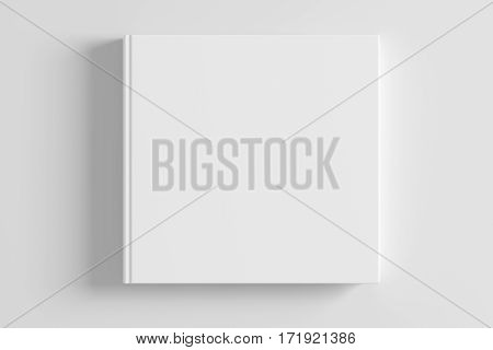 Blank Book Cover Isolated On Background