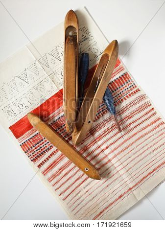 Still Life In A Textile Manufactory