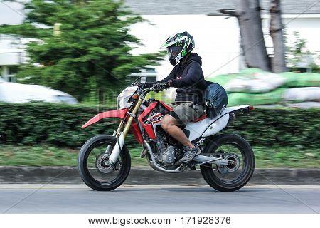 Private Motorcycle, Honda Crf