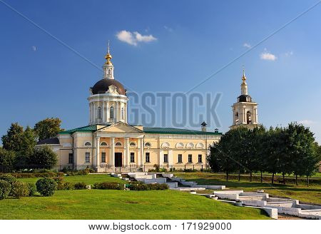 Church of St. Michael Archangel in Kolomna built in the early nineteenth century