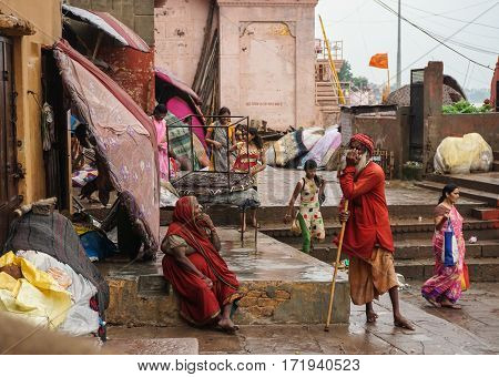 People On Street In Kolkata, India