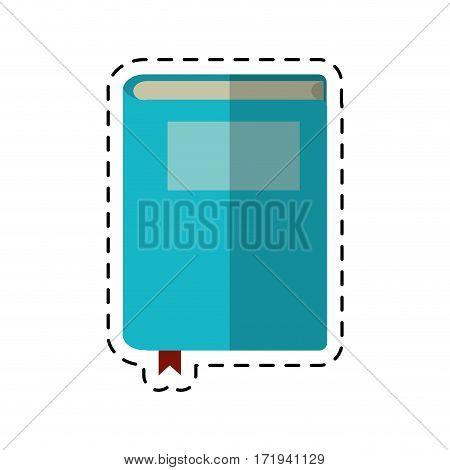 cartoon book study knowledge icon vector illustratino eps 10