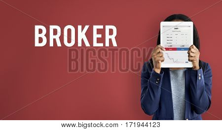 Business Broker Studio Portrait Concept