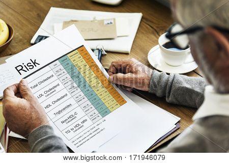 Medical Health Analysis Word Chart