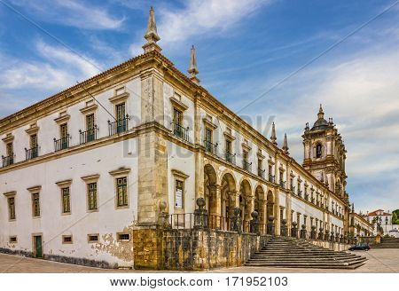 Alcobaca monastery is a Mediaeval Roman Catholic Monastery, Portugal