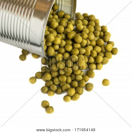 Green Canned Peas Texture
