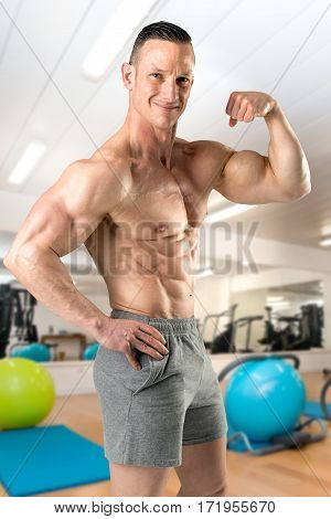 Man With Perfect Body