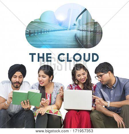 Upload Data Backup Connection Cloud