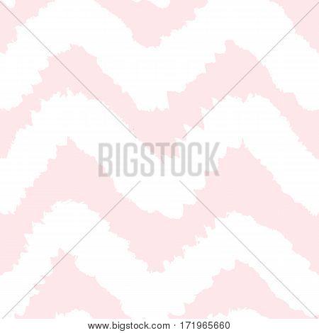 Chevron seamless pattern. Vector hand drawn background