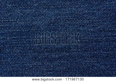 macro of denim texture background. close up