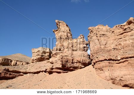 Canyon National Park in asia with sky