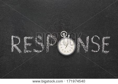 Response Word Watch