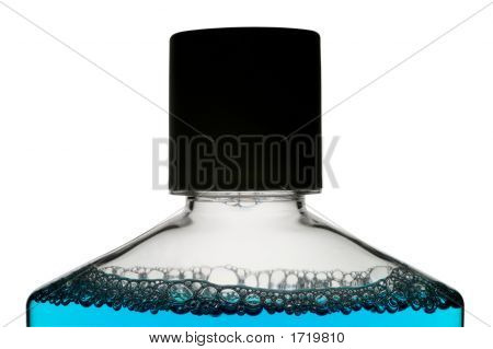 Mouth Wash, Perfume, Essence, With Clipping Path