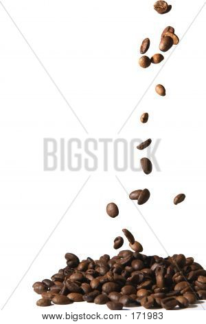 Falling Coffee Beans