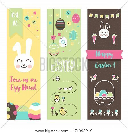 Perfect for Egg Hunt kids party, invitations, grettings.