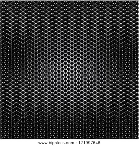 metallic grill perforated background design vector illustration