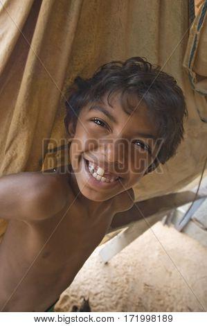 Smiling Brazilian Boy