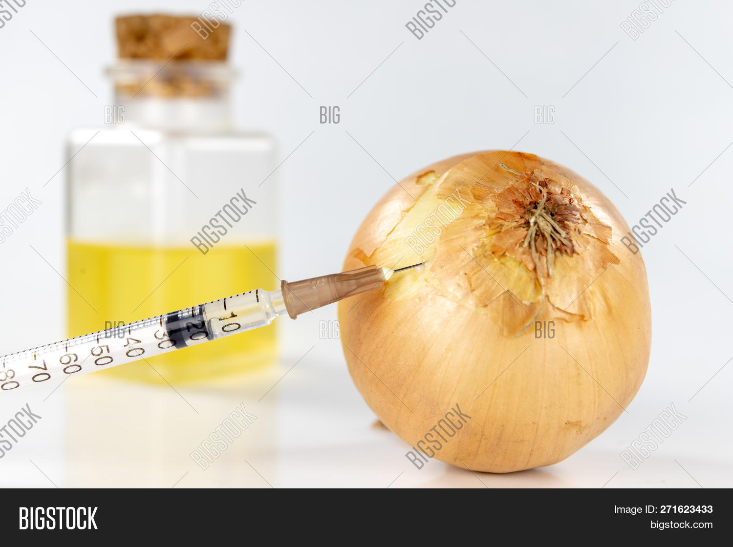 Healthy Onion Juice Image Photo Free Trial Bigstock